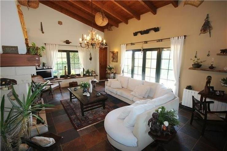 Bild 6: Traumhafte Finca mit Gästehaus nahe Denia, Patio, BBQ, Pool, ZH, Klimaanlage, Kamin, u.v....