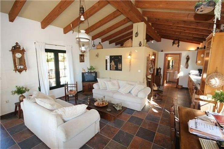Bild 5: Traumhafte Finca mit Gästehaus nahe Denia, Patio, BBQ, Pool, ZH, Klimaanlage, Kamin, u.v....
