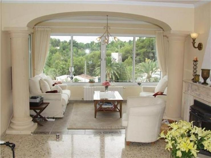 Bild 6: Neu renovierte Villa mit 2 Wohneinheiten, gr Pool und herrlicher Meersicht in Benissa (Bue...