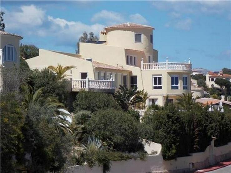 Großzügige Villa am Cumbre de Sol mit 4 SZ, Pool, Garage, Sauna, Meersicht - Haus kaufen - Bild 1