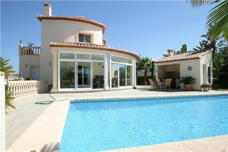 Exklusive 3-SZ Villa in La Sella mit Pool und fantastischen Blicken auf die Berge und das ... - Haus kaufen - Bild 1