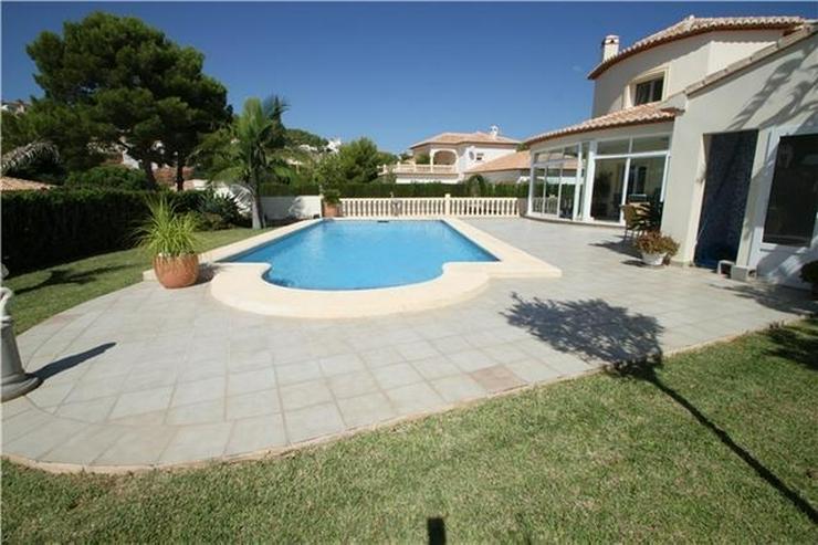 Bild 2: Exklusive 3-SZ Villa in La Sella mit Pool und fantastischen Blicken auf die Berge und das ...