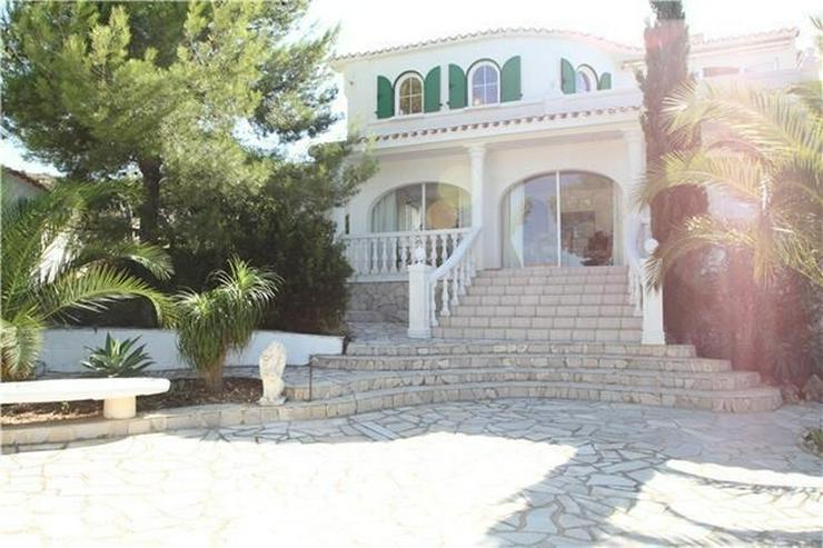 Bild 2: Private Villa in Pedreguer mit Einliegerwohnung, Pool und fantastischen Blicken auf das Me...
