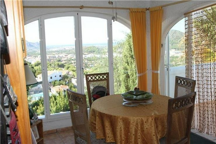 Bild 6: Private Villa in Pedreguer mit Einliegerwohnung, Pool und fantastischen Blicken auf das Me...