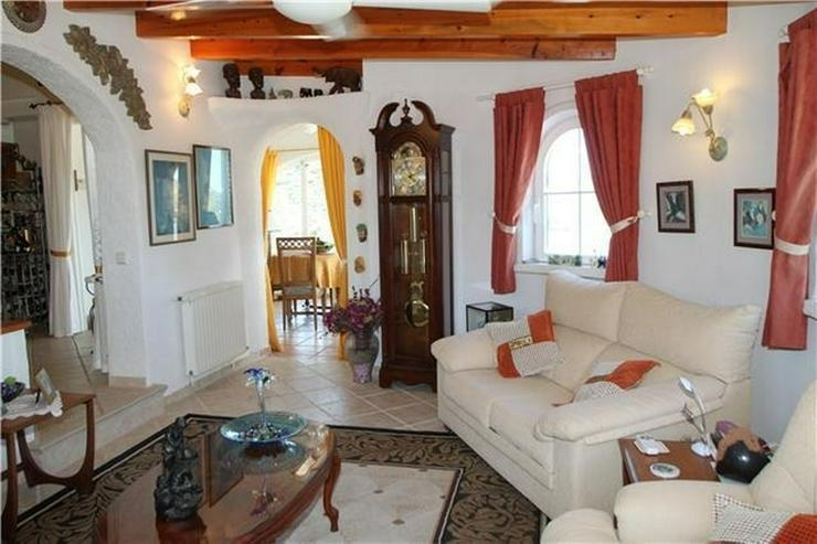 Bild 5: Private Villa in Pedreguer mit Einliegerwohnung, Pool und fantastischen Blicken auf das Me...