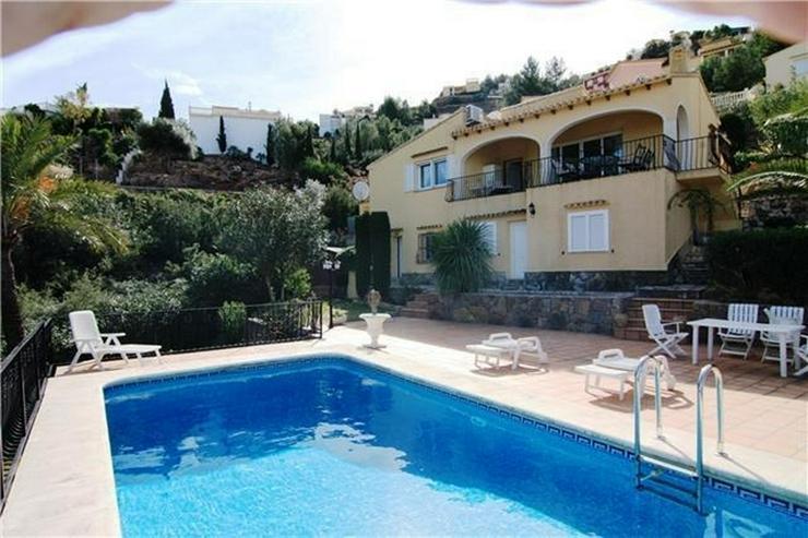 Sehr schöne Villa mit wunderschönen Blick auf das Meer und die Bucht von Valencia in La ... - Haus kaufen - Bild 1