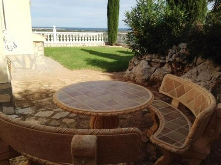 Geschmackvolle Villa mit fantastischem Meerblick in Oliva - San Pere - Haus kaufen - Bild 1
