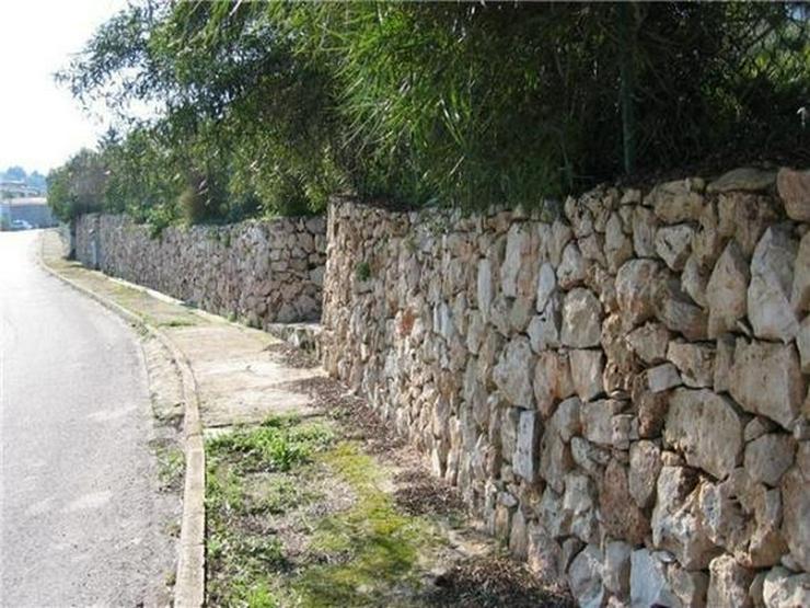 Bild 5: Reizvoll gelegenes Baugrundstück (Baulücke) am Monte Pego mit herrlicher, unverbaubarer ...