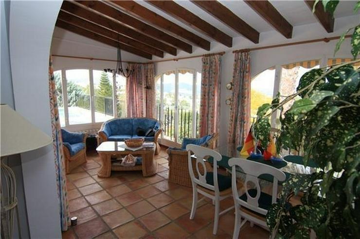 Bild 5: Wunderschöne große Villa am Monte Pego mit 4120qm Grund, 5 SZ, Pool und Meerblick