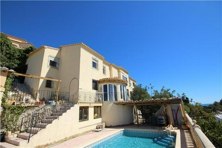 Schöne Villa in Javea, 6SZ, Kamin, BBQ, Pool, Panorama & Meerblick - Haus kaufen - Bild 1