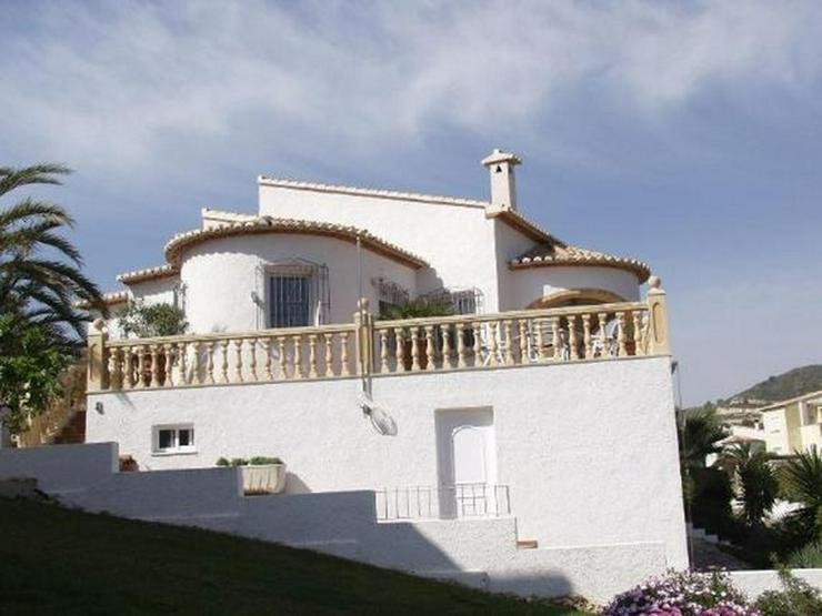 Bild 4: Freistehende Villa mit Gemeinschaftspool, 4-5 SZ, FH, Klimaanlage, Kaminofen, Meersicht na...