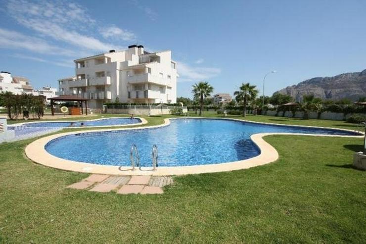 Bild 2: Meernahes, gepflegtes, 2 Schlafzimmer Apartment mit Gemeinschafts Pool in El Vergel
