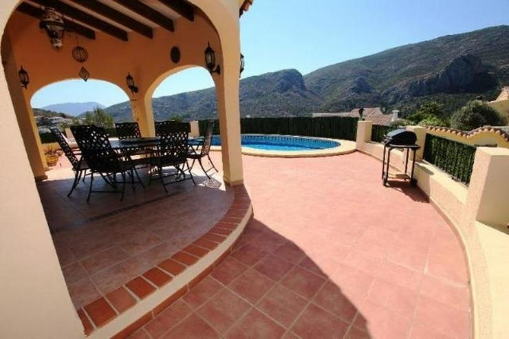 Bild 3: Sehr schöne 4 SZ Villa mit tollem Panoramablick, Pool am Monte Solana bei Pedreguer.