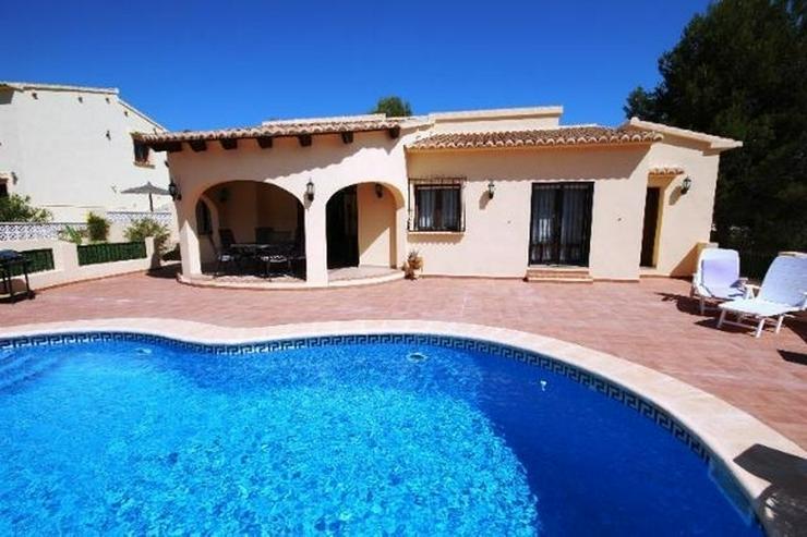 Sehr schöne 4 SZ Villa mit tollem Panoramablick, Pool am Monte Solana bei Pedreguer. - Haus kaufen - Bild 1
