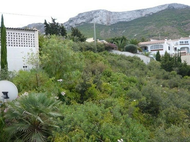 Bild 3: Grundstück in Denia mit Meer- und Burgscht