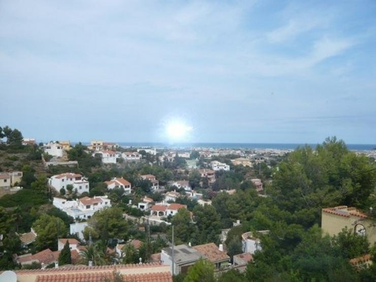 Bild 6: Grundstück in Denia mit Meer- und Burgscht
