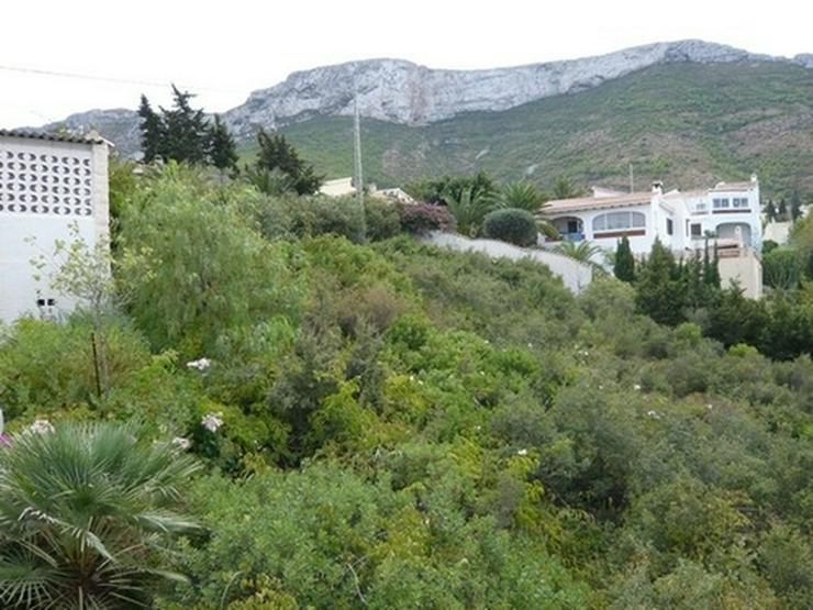 Bild 5: Grundstück in Denia mit Meer- und Burgscht