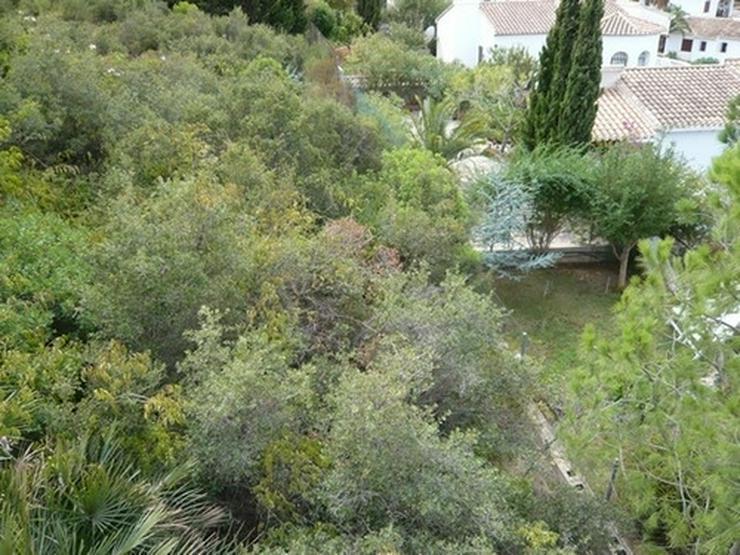Bild 4: Grundstück in Denia mit Meer- und Burgscht