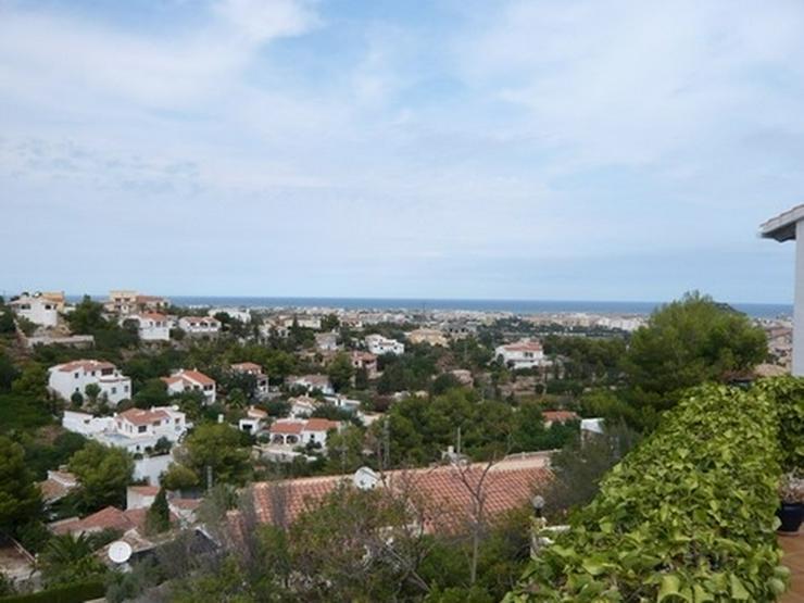 Grundstück in Denia mit Meer- und Burgscht - Grundstück kaufen - Bild 1
