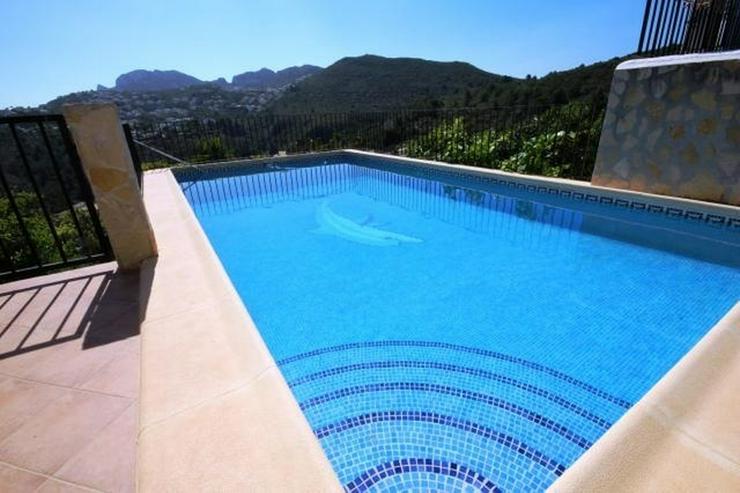 Bild 3: Villa in ruhiger Lage von Monte Pego mit Pool und Aussicht.
