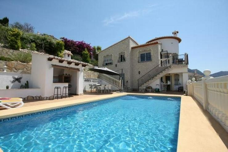 Gepflegte 3 Schlafzimmer Villa mit Pool und herrlicher Fernsicht in Monte Solana / Pedregu... - Haus kaufen - Bild 1