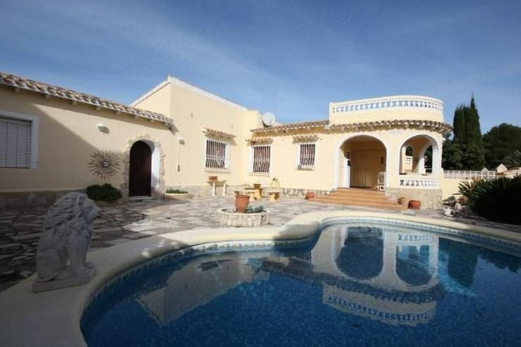 Villa mit separatem Gästezimmer in der Nähe des Strandes von Els Poblets - Haus kaufen - Bild 1