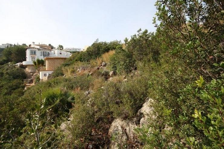 Bebaubares Südwest gerichtetes Grundstück in Monte Pego mit schönem Meer und Bergblick. - Grundstück kaufen - Bild 1