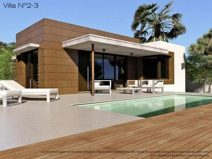 4 freistehende Neubau Villen, Pool optional, 3 Schlafz.,2 Bäder, Meernahe, Bergblick - Haus kaufen - Bild 1
