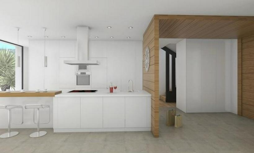 Bild 3: Projektierte Neubau-Villa mit 2 Schlafzimmern und 2 Bädern, hochwertige Ausstattung, inkl...