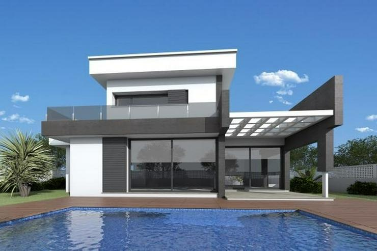 Bild 2: Projektierte Neubau-Villa mit 2 Schlafzimmern und 2 Bädern, hochwertige Ausstattung, inkl...