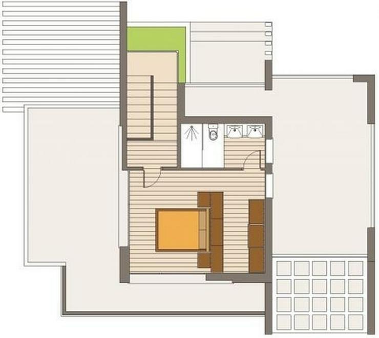 Bild 5: Projektierte Neubau-Villa mit 2 Schlafzimmern und 2 Bädern, hochwertige Ausstattung, inkl...