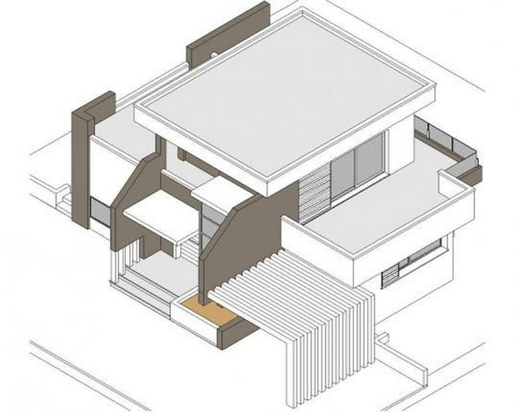 Bild 6: Projektierte Neubau-Villa mit 2 Schlafzimmern und 2 Bädern, hochwertige Ausstattung, inkl...