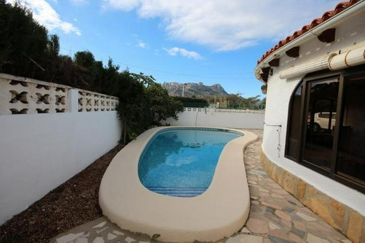 Bild 3: Strandnahe Villa in Els Poblets mit Zentralheizung, Kamin und privatem Pool von 8x5 Meter