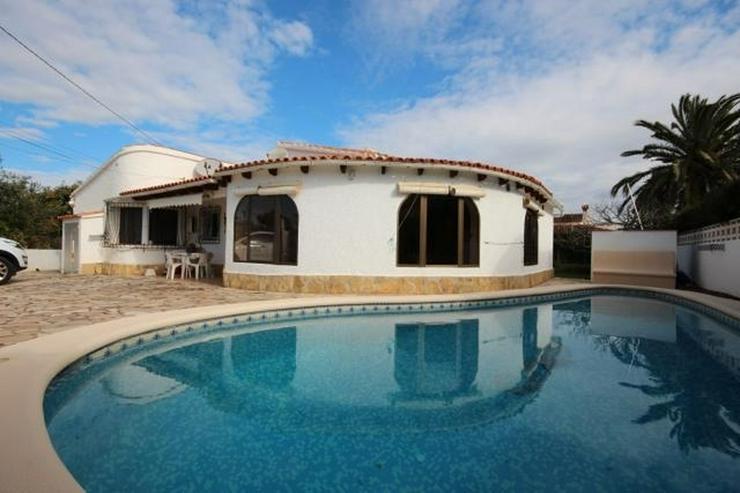 Strandnahe Villa in Els Poblets mit Zentralheizung, Kamin und privatem Pool von 8x5 Meter - Haus kaufen - Bild 1