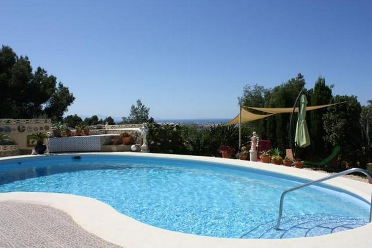 Bild 2: Sehr schöne Villa mit Pool und Meerblick, neu renoviert, verglaste Terrasse, ZH, Garage, ...