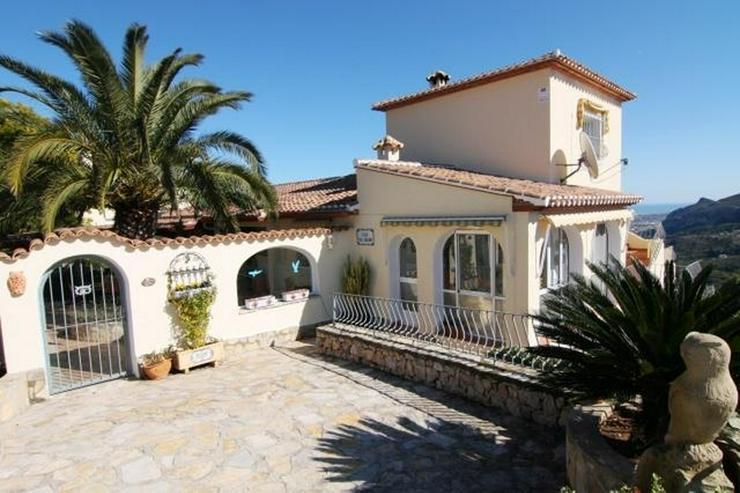 Hochwertig ausgestattete Villa mit herrlicher Aussicht auf das Meer und in die Berge, Saun... - Haus kaufen - Bild 1