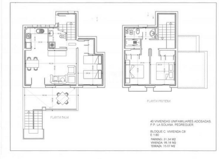 Bild 11: Reihenhaus mit traumhaftem Ausblick, mit zwei oder drei Schlafzimmern