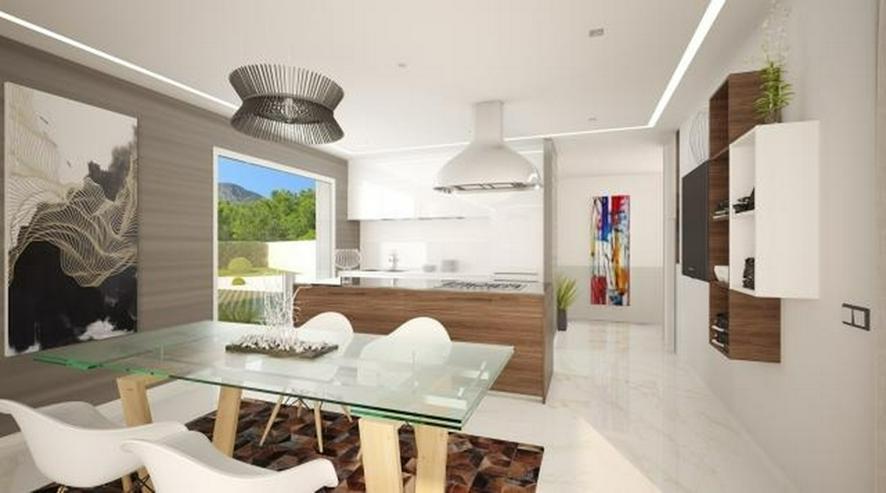 Bild 3: Neues Bauprojekt geplant auf einem herrlichen Grundstück in Denia mit Meerblick