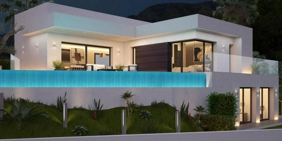 Neues Bauprojekt geplant auf einem herrlichen Grundstück in Denia mit Meerblick - Bild 1
