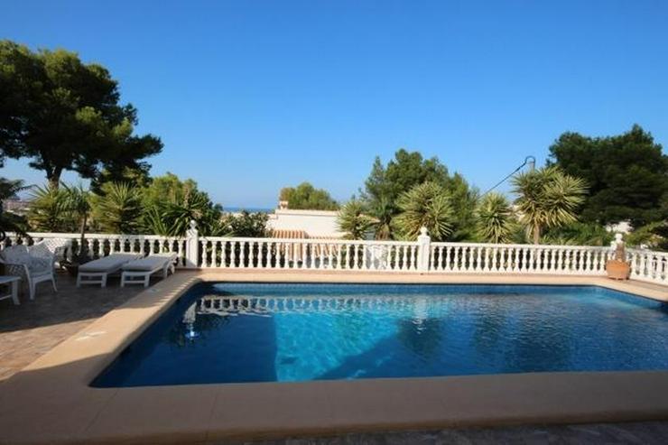 Bild 2: Sehr schönes Villenanwesen in Denia mit Meerblick, Klimaanlage, Pool, BBQ, Jacuzzi, stadt...