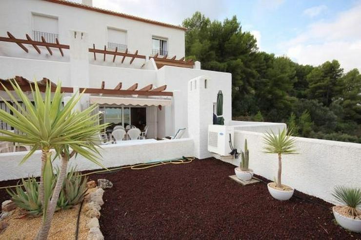 Bild 5: Modernes Apartment mit Panoramablick auf das Meer und eigenem Garten.