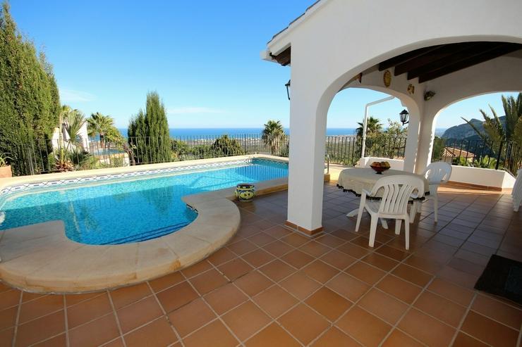 Bild 5: NEU ! Villa am Monte Pego, Meerblick, Bergblick, Panorama, Pool, Whirlpool, BBQ, 3 SZ , WZ...