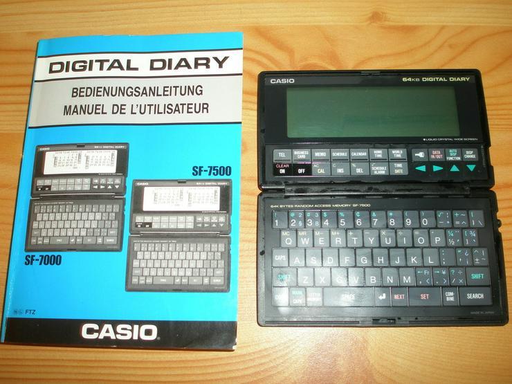 Casio SF-7500 Digital Diary