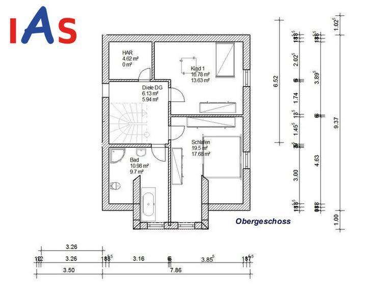 Bild 3: Doppelhaus-Neubau: Ruhig gelegen - unweit von Pressath und Grafenwöhr zu verkaufen!