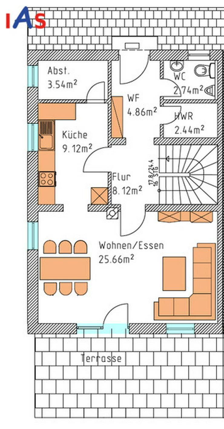 Bild 3: Herrlicher Donaublick Doppelhaus-Neubau in Poikam zu verkaufen!!
