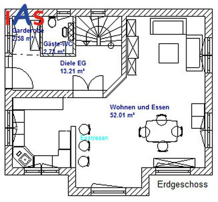 Bild 3: Neubau: Schicke Doppelhaushälfte in 1A-Lage, Baulücke, in Pfaffenhofen a. d. Ilm zu verk...