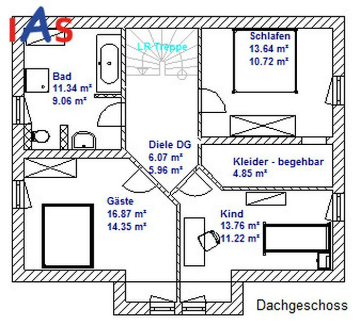 Bild 3: Neubau: Einfamilienhaus - Vollkeller mit Garage und idyllischer Fernblick inklusive!