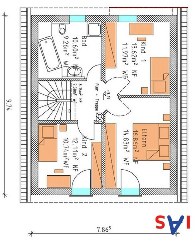 Bild 4: Neubau: Familienhaus in ruhiger Lage nahe Sulzbach-Rosenberg zu verkaufen!