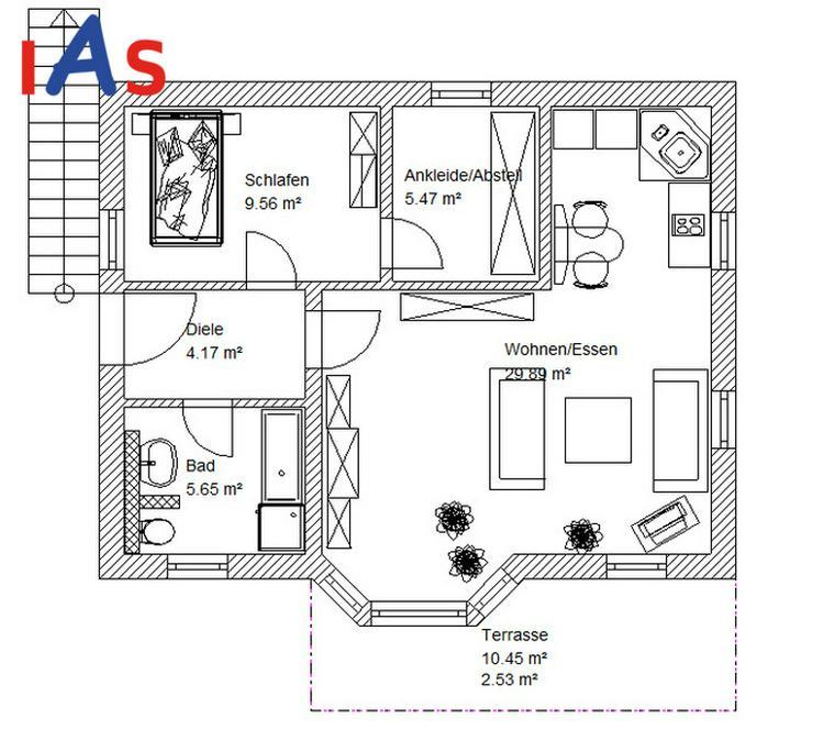 Neubau eines EFH mit Einliegerwohnung und Südhanglage! - Haus kaufen - Bild 1