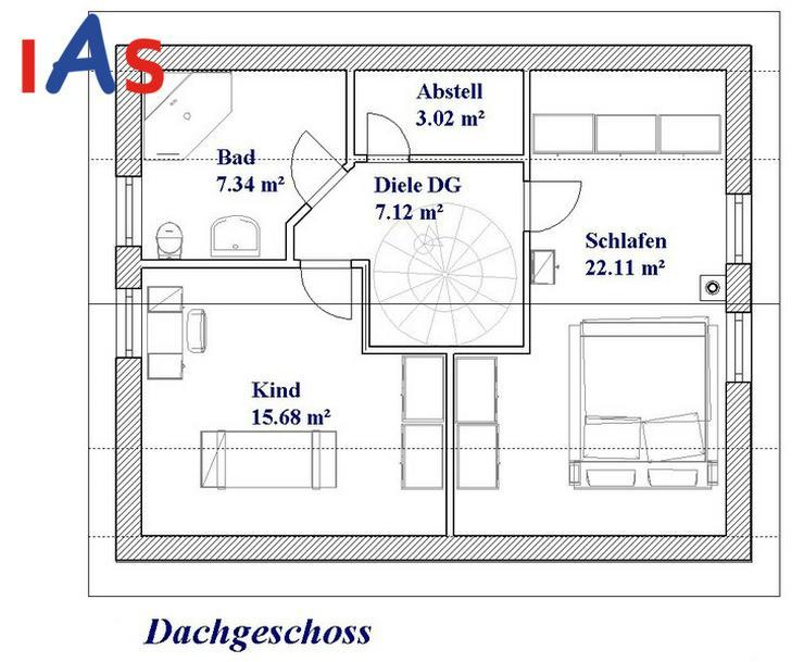Bild 4: Neubau: sonniges Grundstück & sonniges Haus in Südhanglage in Stammbach zu verkaufen!
